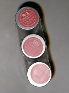 Wet N Wild lipstick lip color SEALED 502A Dark Pink Frost - Pack of 3