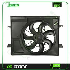 Electric Engine Radiator Cooling Fan Assembly For 2010 2011 2012 2013 Kia Forte