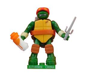 Raphael Figur Teenage Mutant Ninja Turtles Nickelodeon Serie 1 Mega Bloks Neu