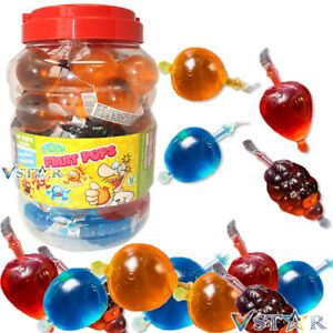 CRAZY CANDY FACTORY FRUIT POPS JELLY JELLIES TIKTOK CRAZE RETRO SWEETS