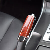 Universal Red Carbon Fiber Car Handle Hand Brake Protector Cover Car Accessories