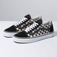 Vans UA Old Skool Blur Check Black White Men Lifestyle Sneaker skate VN0A38G1VJM