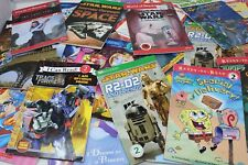 Lot of 10 Level 2 -Step into Reading - RL- Ready to- I Can Read-Learn Books-MIX