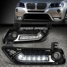 FOR 11-14 BMW F25 X3 SUV 2WD/4WD BUMPER FOG GRILL LED DRL DAY TIME RUNNING LIGHT