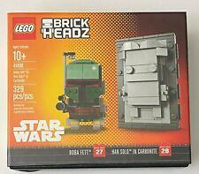 Lego brickheadz 41498 Boba Fett & Han Solo en Carbonita (329 piezas) 2017 NYCC