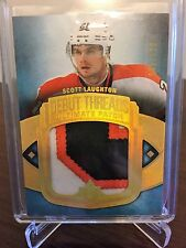 2013-14 Scott Laughton Upper Deck Ultimate 45/100 Debut Threads Patch