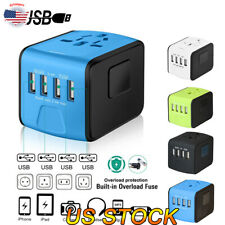 Travel Adapter, Perfect Worldwide Travel Charging Solution For Family Together