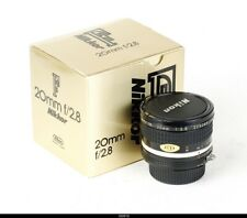 NIKON Ai-S NIKKOR 2.8/20mm  F-Mount  Mint Box