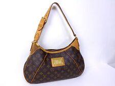 100% Authentic Louis Vuitton Monogram Thames GM Shoulder Hand Bag H911
