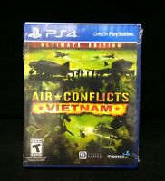 Air Conflicts: Vietnam -- Ultimate Edition  (Sony PlayStation 4, 2014) BRAND NEW
