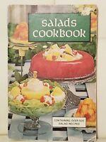 Vintage Salads Cookbook 500 Recipes Softcover 1969