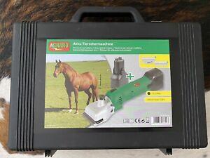 FarmClipper Akku Kerbl Rind, Pferd Schermaschine inkl. 2 Akkus 10,8 V