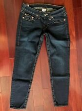 NEW TRUE RELIGION WOMENS JEANS SKINNY SIZE 31 MADE IN THE 🇺🇸
