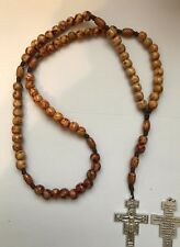 UNIQUE FRANCISCAN CROWN ROSARY ~  FREE SHIPPING~FRANCISCAN ROSARY HOUSE