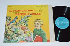 TANTE LUCILLE Il Etait Une Fois... Contes de LP 1966 RCA Gala Canada CGPS-155
