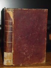 1859 The Book Of Common Prayer; Sacraments, Rites, Ceremonies of Church