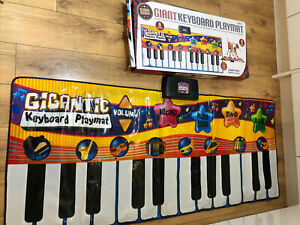Mat Giant Keyboard Playmat child Musical Toy kids children's piano keys over 3's