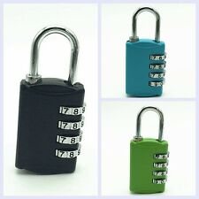 4 Dial Digit Combination Luggage Suitcase Metal Code Password Padlock Lock Hot