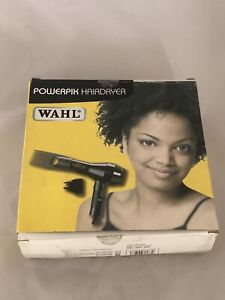 WAHL POWERPIK HAIRDRYER INC AFRO COMB ONEPIK ATTACHMENT 1250W NEW - £1 START