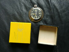 NOS HEUER NAVIA YACHT RALLY DASH CLOCK / WATCH ANTIQUE TIME SWISS 8 DAY 01226