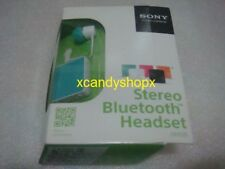 AUTHENTIC SONY SBH20 Stereo Bluetooth Wireless Headset (Green/Mint)