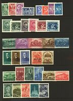 Hungary 1930/40 range of sets and singles to include '30 Emeric, '35 Univ Stamps
