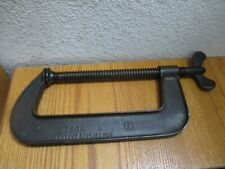 "Vintage 8"" G Clamp For Woodworking Or Welding"