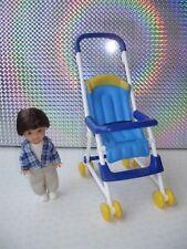 Venta Barbie Familia Feliz Ryan muñeca con Original ropa, zapatos y Azul Buggy Cochecito de Niño
