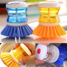 1PC Washing Up Scrubbing Brushes Easy Grip Dish Washer Kitchen Sink Cleaning Up