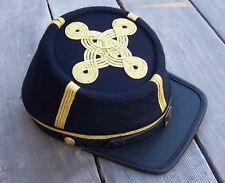 civil war reenactor officers  kepi  4 row braids Large