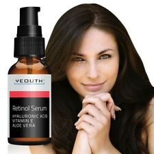 Retinol Serum W Hyaluronic Acid Aloe Vera Vitamin E Reduce Wrinkles Fine Lines