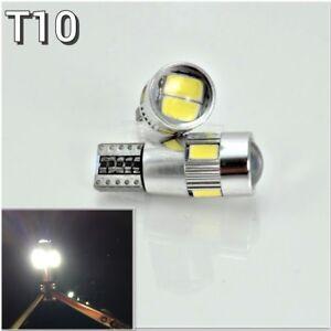 License Plate Light T10 168 194 2825 LED White Canbus Bulb K1 For Subaru Scion H
