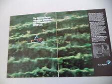 advertising Pubblicità 1986 MOTO BMW K 75 K75