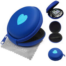 Colourful Hearts MP3 Player Case / Headphone Clamshell Case, Cover