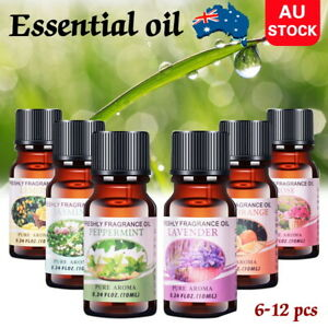 12x Essential Oils 100% Pure & Natural Aromatherapy Diffuser Essential Oil Set