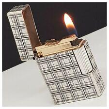 Briquet gaz* St Dupont Hermès Paris * Silver.Pl-Lighter-Feuerzeug-Accendino*rare
