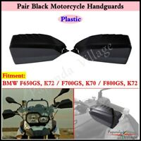 10mm Bar End Rearview Side Wing Mirrors Black For Yamaha XT250X TTR225 TTR230