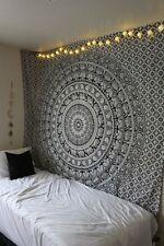 Hippie Mandala Tapestry Wall Hanging Ethnic Bohemian Dorm Room Decor Bedspread