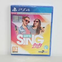 LETS (LET'S) SING 2021 - SONY PS4 PLAYSTATION 4 GAME - BRAND NEW & SEALED