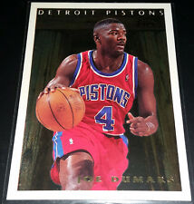 Joe Dumars 1995-96 Topps PAN FOR GOLD Insert Card (no.PFG4)