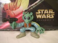 GREEDO STAR WARS GALACTIC HEROES PLAYSKOOL 2006 RELEASE A NEW HOPE EPISODE I