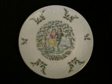 Winter Fun collector plate Royal Doulton Victorian Christmas Ice Skating