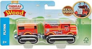 FLYNN Thomas & Friends Wooden Railway Real Wood - Fisher Price GGG64 NEW!