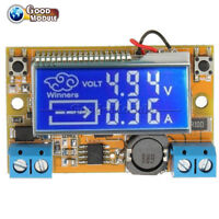 3A LCD display DC-DC step-down power supply adjustable push-button module