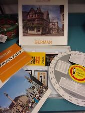 Berlitz Cassette Course Basic German Cassettes Book Verb Wheel box  - LOTFOL