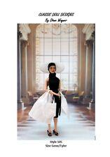 """SEWING PATTERN-Style 105 Film Inspired Resort Wear Gene Tyler 16"""" Poppy Parker"""