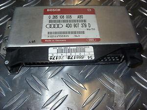 ++ Audi A4 / A6 Steuergerät ABS Antiblockiersystem 4D0907379 D  ++