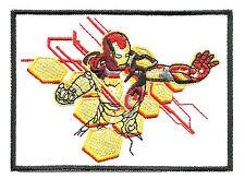 I'm Iron Man Tony Stark Marvel Hero Cartoon Appliques Embroidery Iron on Patch