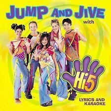 Jump & Jive With Hi-5 HI 5 Audio CD Music Children Lyrics and Karaoke Songs