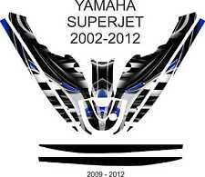 YAMAHA SUPER JET jet ski wrap graphics pwc stand up jetski decal kit 4